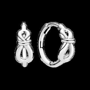 Infinity Knot Hoop Earrings