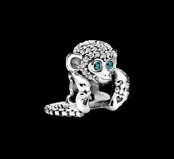 Pavé Monkey Charm