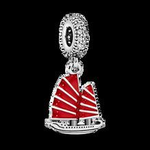 Chinese Junk Ship Dangle Charm