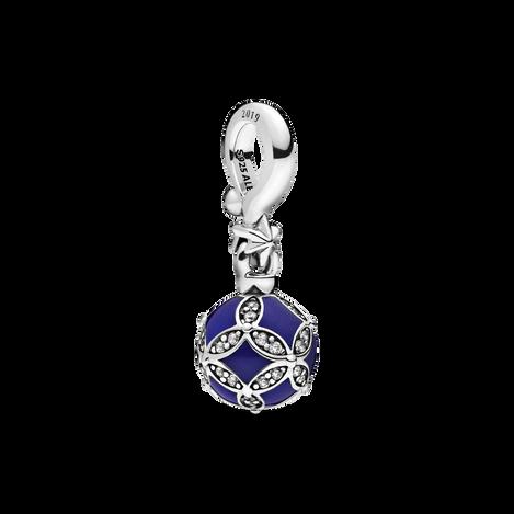 Blue Christmas Ornament Dangle Charm