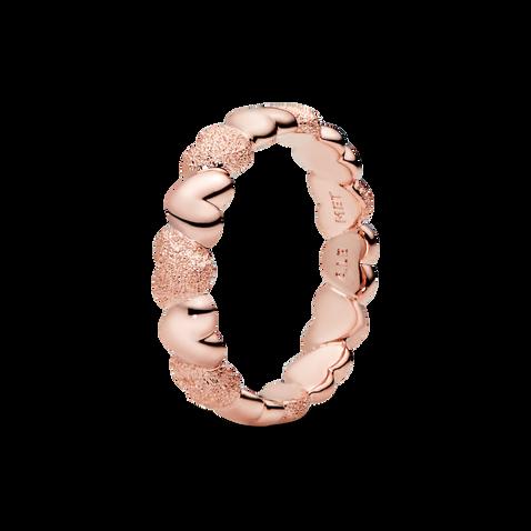 Matte Brilliance 心形戒指