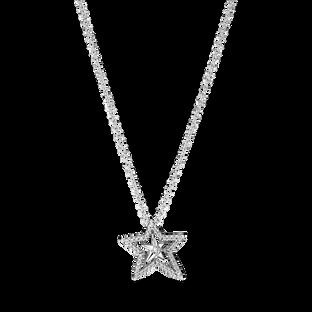 密鑲寶石璀璨星形短項鏈