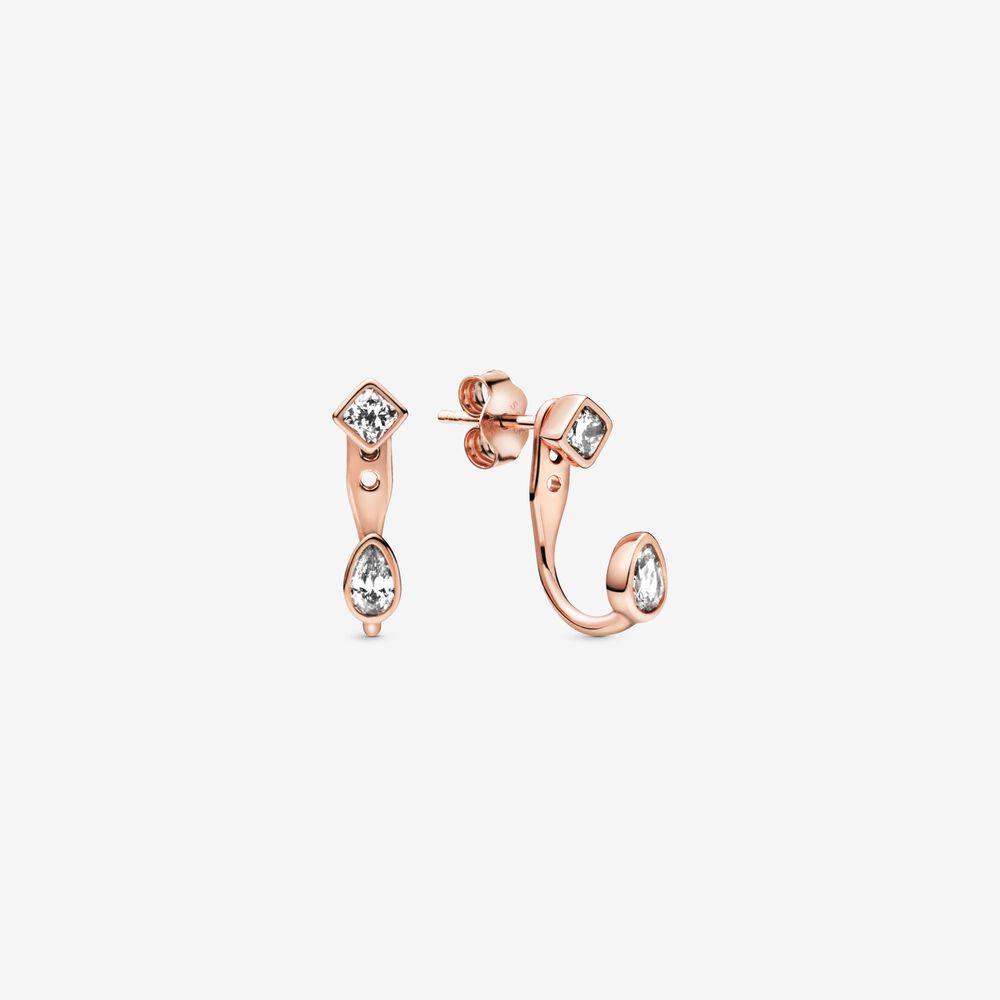 6. 密鑲寶石圓珠耳環圈  HK$699.00