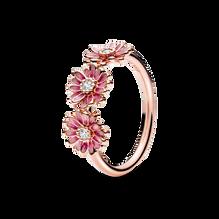 粉紅三雛菊戒指