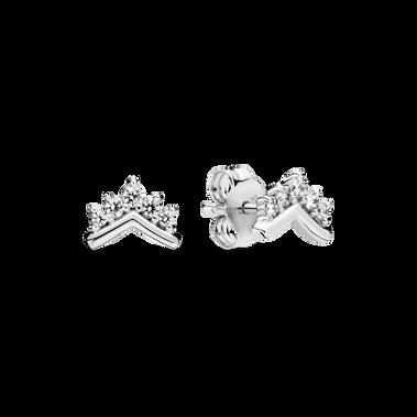 冠冕許願骨針式耳環
