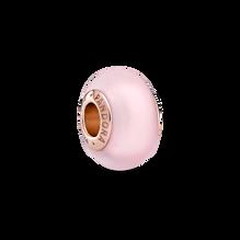粉紅啞光Murano琉璃串飾