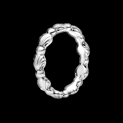 圓珠海貝戒指
