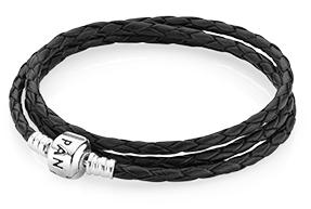Triple Woven Leather Bracelet